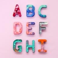 ABC알파벳 몰드(3p)