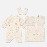 [위드오가닉] 오가닉 신생아 출산5종세트 아기별
