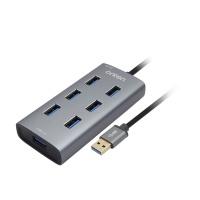 7포트 USB3.0 허브 / 유무전원 허브 LCFW698