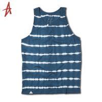 [Altamont] WHITE LINES TANK TOP (Blue)