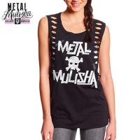 BAND AID TANK TOP (BLACK)
