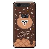 라인프렌즈 iPhone7 Plus CHOCO Cracker LIGHT CASE