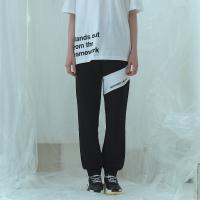 [어나더프레임] ANOTHER FRAME - STANDARD SWEAT JOGGER PANTS (BLACK) 조거팬츠 스웨트팬츠