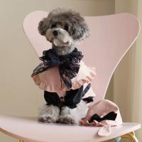 강아지옷 로즈메리 케이프 원피스