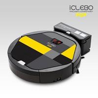 아이클레보 로봇청소기 팝 레몬블랙 YCR-M05-P2