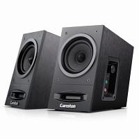 [캔스톤] 스피커 LX-2000 Merlin (2채널 / 우든 MDF 인클로져 / 공기 순환 시스템 / USB전원 / 마이크 & 헤드폰 단자 / 노이즈방지 케이블)
