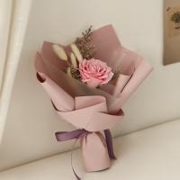빅로즈 허니테일 한송이꽃다발 [2color]