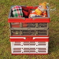 캠핑 다용도 폴딩 바스켓 박스/리빙박스/장바구니/폴딩박스/캠핑용품