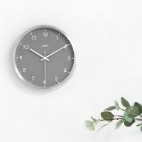 AL그레이무소음벽시계/건전지포함