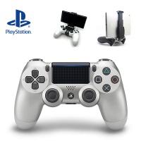 PS4 SONY 듀얼쇼크4 실버 (스마트폰 마운트 포함)