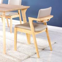 [끄망메블루] 일루쏘2 원목 식탁 의자