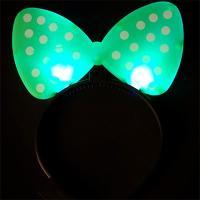 LED 리본머리띠 (그린)