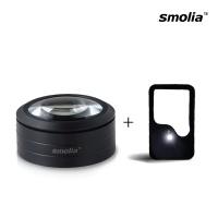 LED 확대경 돋보기 카드형+Smolia-L 선물세트