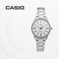 카시오 아날로그 여성 커플 손목시계 LTP-1303D-7A