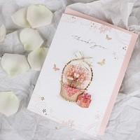 꽃 바구니 감사카드 / 025-SG-0063