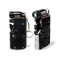 [MAGMA] 휴대용 멀티 호신기 마그마P (130db경보기, 줌인라이트, 초강력스프레이)