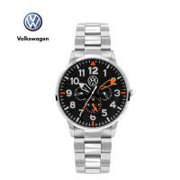 폭스바겐 멀티펑션 메탈시계 VW-Allspace-BS