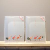 플라밍고(Flamingo) A4 투포켓 밴드파일