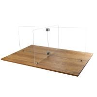 식당 칸막이 4인용 책상 가림막(1150*400mm)