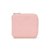 PFS Zipper Wallet 003 Light Pink