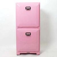 덜튼2단분리함-pink