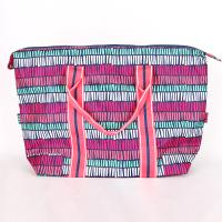 [ALL FOR COLOR]TRAVEL TOTE - TRIBAL STRIPE