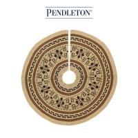 [PENDLETON] 펜들턴(ACC) 크리스마스 트리 깔개 스커트 _브라운