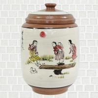 황토 쌀항아리 널뛰기 쌀독 용량 20kg CH1398837