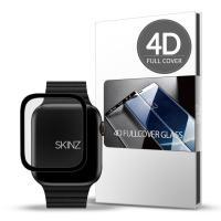 스킨즈 애플워치5 4D 풀커버 강화유리 필름 40mm 1매