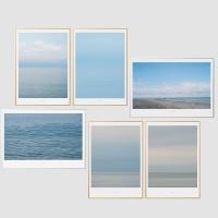 인테리어액자 바다 시리즈 6종 (A2 Print+액자)
