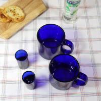 a코발트 블루 머그 2P, 샷잔 2P.