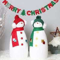 크리스마스 친구 눈사람 2P세트(L)
