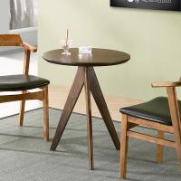 [에인하우스] 마디스 원목 원형 티 테이블