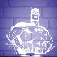 [영국 팔라돈정품] DC코믹스 배트맨 히어로 무드등