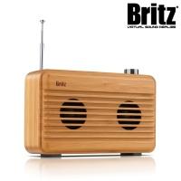 브리츠 휴대용 무선 블루투스 스피커 BZ-W150 (대나무재질 / 블루투스4.2)