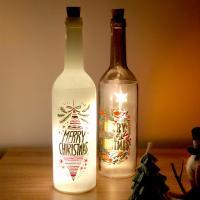 코에 와인병 LED 무드등 보틀라이트 2종 - 화이트/브라운