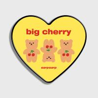 Three cherry big bear-yellow(하트톡)