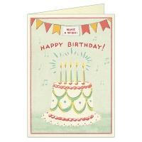카발리니 생일케이크 카드