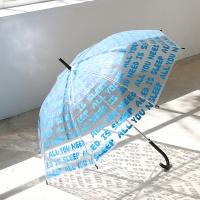 [1+1] 더스프링홈 타이포 투명 우산