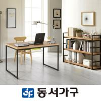 [동서가구] 스틸스 인테리어600책상+책장세트 DF625157
