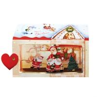 크리스마스카드/성탄절/트리/산타 산타의집(FS205-5)