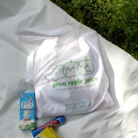 apple juice bag  (에코백)