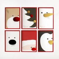 디비디 크리스마스 카드 - Cute