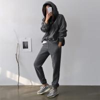 [Set] Perfect Warm Hood Sweatshirt + Jogger Pants