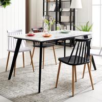 블랙 인더밴 1500 대리석식탁 테이블