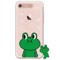 [SG DESIGN] iPHONE7 PLUS 라인프렌즈 레너드 LIGHT UP Case - ROSE GOLD(소프트/라이팅)