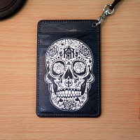 Vintage card case (skull)