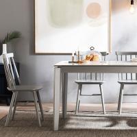 [채우리] 바움 세라믹 4인식탁세트(의자)