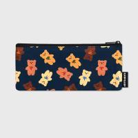 Dot ribbon bear-navy(필통)