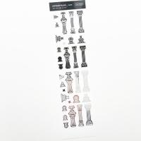 푸푸남 엔틱기둥 [은광] 씰스티커
